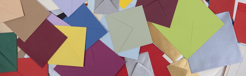quadratische briefumschl ge farbig. Black Bedroom Furniture Sets. Home Design Ideas