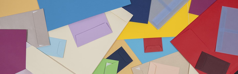 Farbige Versandtaschen
