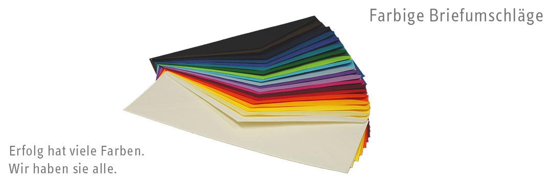 Farbige Briefumschl�ge