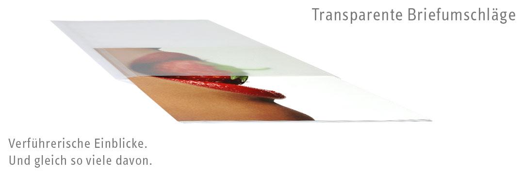 Transparente Briefumschl�ge